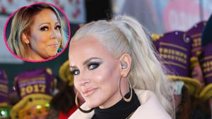 Jenny McCarthy und Mariah Carey am New Year's Eve 2016 in New York