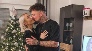 Jessi und Nik Schröder erfuhren an Weihnachten von Babyglück