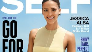 Jessica Alba in Topform auf dem Self Magazine Cover