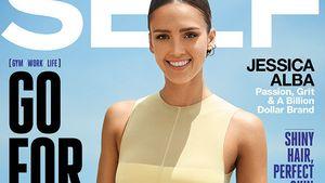 Jessica Alba in Topform auf dem Self Magazine Cover