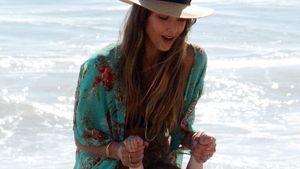 Jessica Alba: Wasserspaß mit Cash und den Kleinen