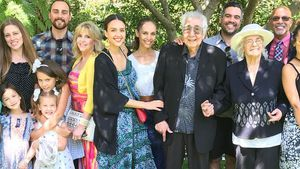 Jessica Alba mit ihrer Familie