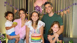 Alle am Strahlen: Jessica Alba feiert Honors 12. Geburtstag