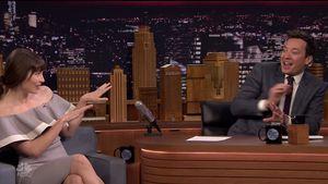 Jessica Biel Anfang 2017 bei Jimmy Fallon zu Gast in der Sendung