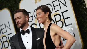 Jessica Biel und Justin Timberlake bei den 74. Golden Globes in Los Angeles
