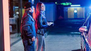 """Heiße Verhaftung? Jessica Paszka spielt in Silas """"Offscreen"""""""
