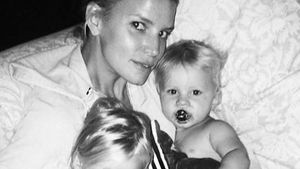 Jessica Simpson, Maxwell Drew Johnson und Ace Knute Johnson