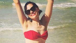 Jessie J: Sexy Kurven im roten Bikini
