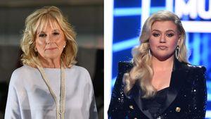 First Lady Jill Biden baut Kelly Clarkson nach Trennung auf