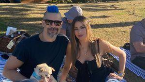 Joes blaue Haare: Das denkt seine Frau Sofia Vergara darüber