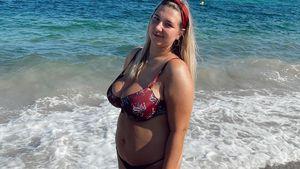 Im Bikini: Joelina Karabas steht für Body Positivity ein
