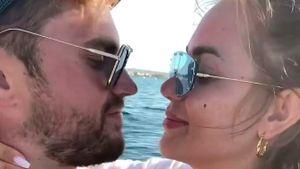 Überglücklich: Jessi Paszka und Johannes zeigen ihre Hailey