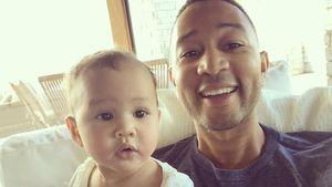 John Legend mit Tochter Luna Simone