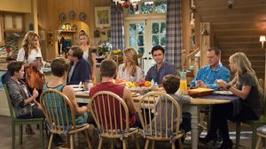 John Stamos, Jodie Sweetin, Candace Cameron Bure, Andrea Barber, Dave Coulier und Bob Saget