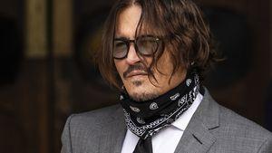 Johnny Depp soll Amber Heard in den Rücken getreten haben