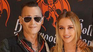 Er sieht besser aus! Hier trifft Cathy Lugner Johnny Depp
