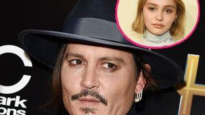 Kein Schock! Johnny Depp wusste von Lily-Roses Bisexualität