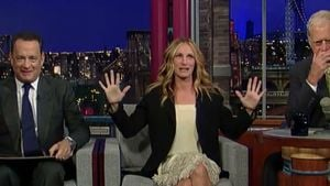 "Julia Roberts & Tom Hanks sind ""frischverheiratet"""