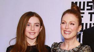 Schauspielerin Julianne Moore und ihre Tochter Liv Freundlich
