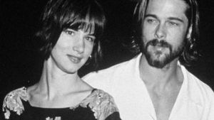 Brad Pitt und Juliette Lewis