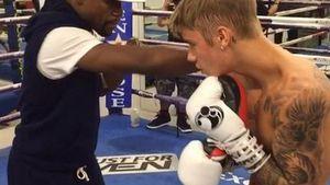 Boxen im Blut: Justin Bieber ist ein echter Champ!