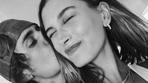 """""""Liebe dich"""": Justin Bieber teilt Knutsch-Selfie mit Hailey!"""