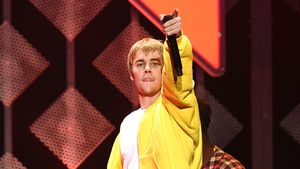 """Justin Bieber während der """"102.7 KIIS FM's Jingle Ball"""" 2016"""