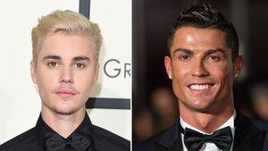 Justin Bieber und Cristiano Ronaldo
