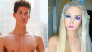 Justin Jedlica und Valeria Lukyanova