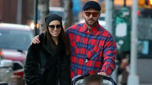 Alles im Lot? Justin Timberlake & Jessica spazieren durch NY