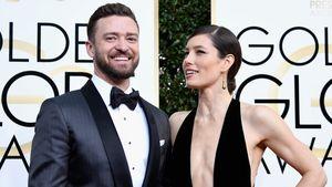 Justin Timberlake und Jessica Biel bei den Golden Globes 2017