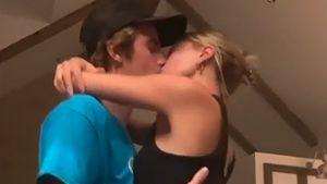 Justin und Hailey Bieber knutschen in heißem Video herum!