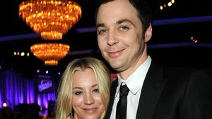 Kaley Cuoco und Jim Parsons in Beverly Hills