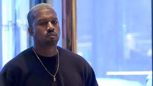 Kanye West bei seinem Besuch im Trump Tower