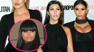 Khloe, Kourtney und Kim Kardashian und Schwägerin Blac Chyna