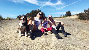 Kate Hudson und ihre Kids