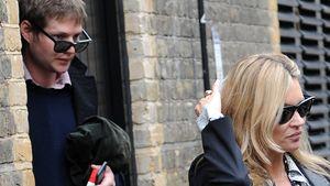 Zurück zum Ex: Kate Moss verlässt Hotel mit ihrem Grafen