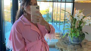 Ein Traum in Pink: Katharine McPhee zeigt ihren Babybauch