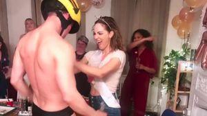 Meghan-Freundin Katharine McPhee feiert JGA mit Strippern