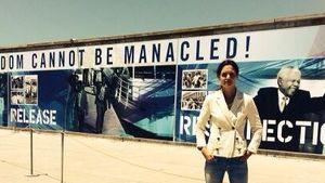 Katie Holmes: Auf den Spuren von Nelson Mandela