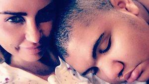Katie Price mit ihrem Sohn Junior