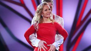 Privat eine Heulsuse! Katja Burkard auf der Bühne gehemmt