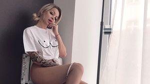 YouTube-Erotik-Star Katja Krasavice scannt ihren prallen Po!