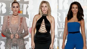 Katy Perry, Ellie Goulding und Michelle Keegan bei den BRIT Awards 2017