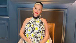 """Schwangere Katy Perry scherzt: """"Ich watschele wie eine Ente"""""""