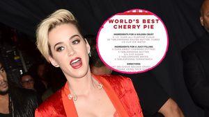 Katy Perry mit dem Kuchen-Rezept