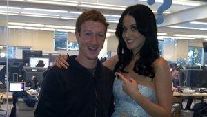 Katy Perry trifft sich mit dem Facebook-Gründer