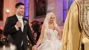 Lucas Cordalis und Daniela Katzenberger auf ihrer Hochzeit im Jahr 2016