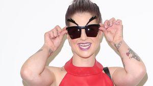 Bei Kelly Osbourne sind die Augenbrauen inklusive