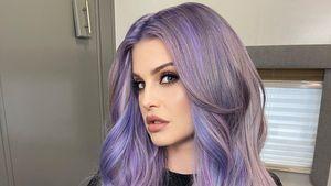 Kelly Osbourne begeistert Fans mit neuer Wallemähne in Lila